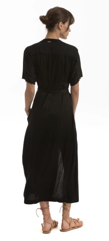 Cali Dreaming Palma Dress - Onyx