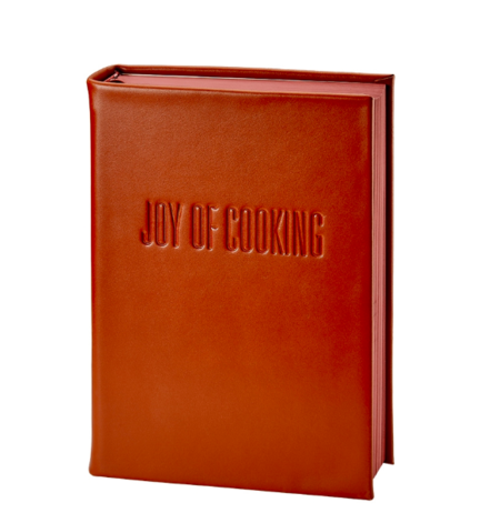 Graphic Image, Inc Joy of Cooking Leather Book - Rust