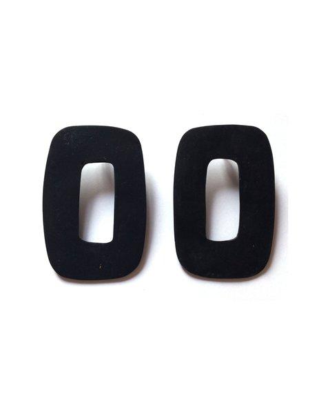 Hello Zephyr Sagres Earrings - Black