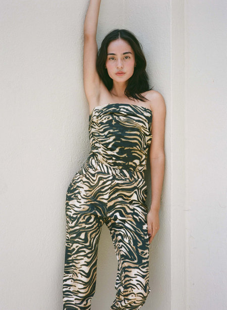 Rachel Comey Tesoro Pant - Brown Bengal Cotton Twill