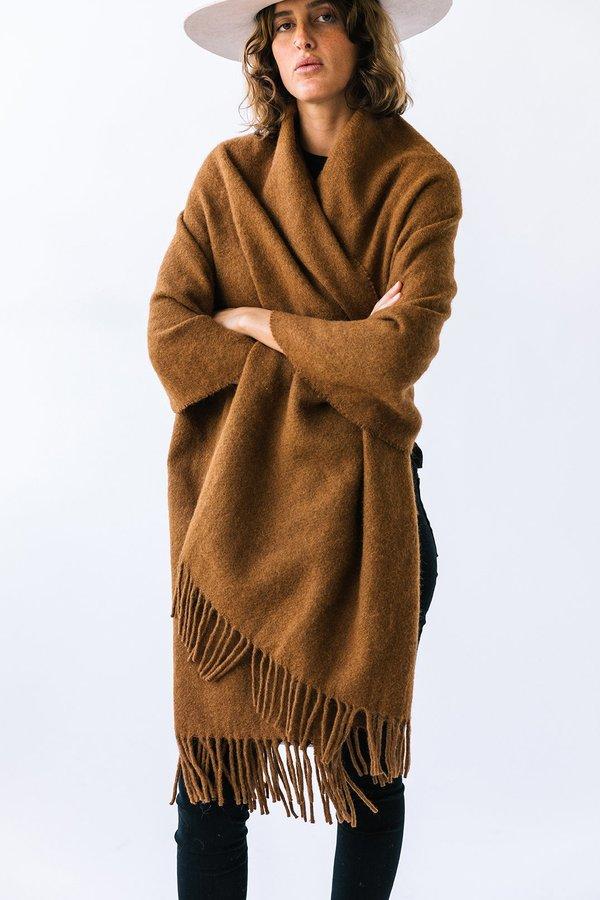 Pampashop Puna OversizedScarf - Tobacco