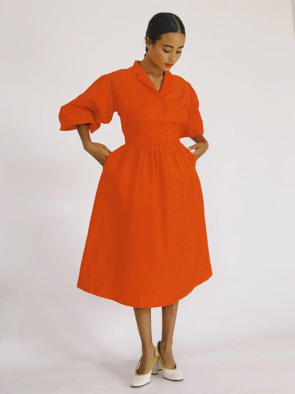 Hannah Kristina Metz Fairfax Dress - Poppy