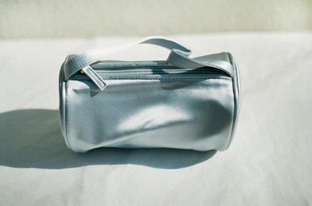 HAI Round Zip Bag - Baby Blue