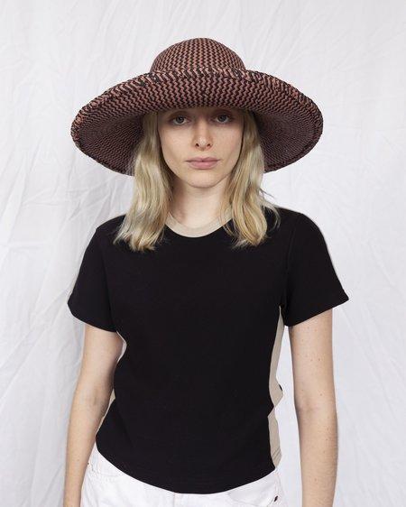 Clyde Koh Hat - Rust/Black ZigZag
