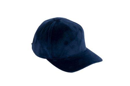 Clyde Microsuede Ballcap - Navy