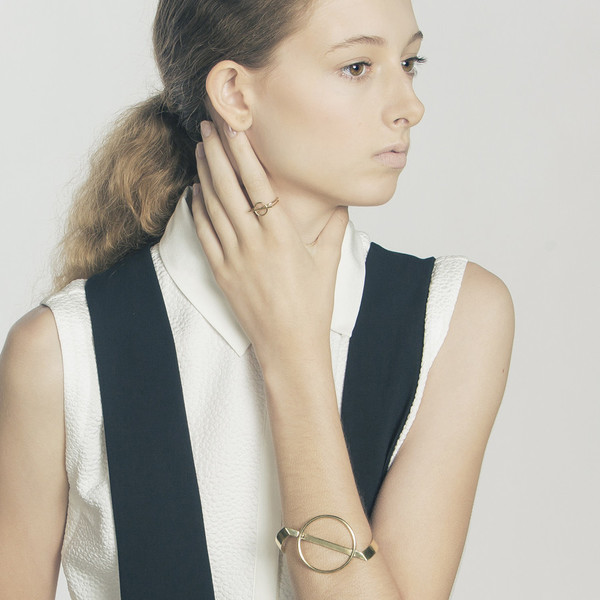 Metalepsis Projects Mobius ring - Brass