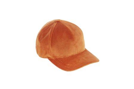 Clyde Microsuede Ballcap - Rust