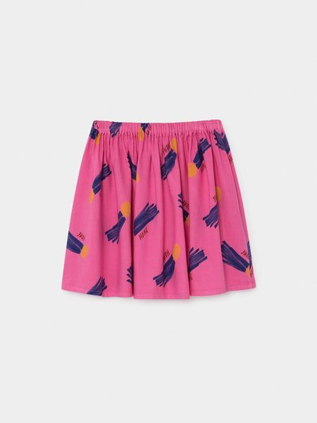Kids Bobo Choses All over a Star Called Home Flared Skirt - Pink