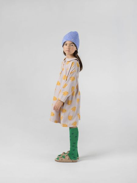 Kids Bobo Choses All Over Comets Buttons Dress