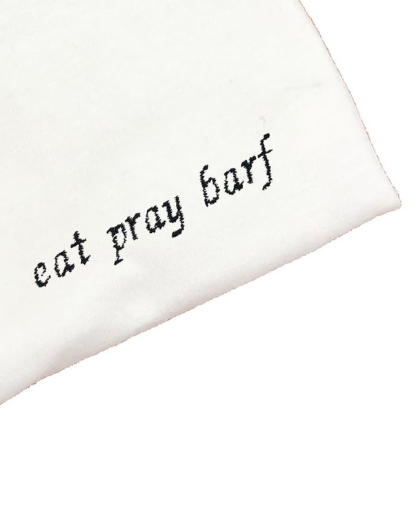 Unisex House of 950 eat pray barf tee shirt