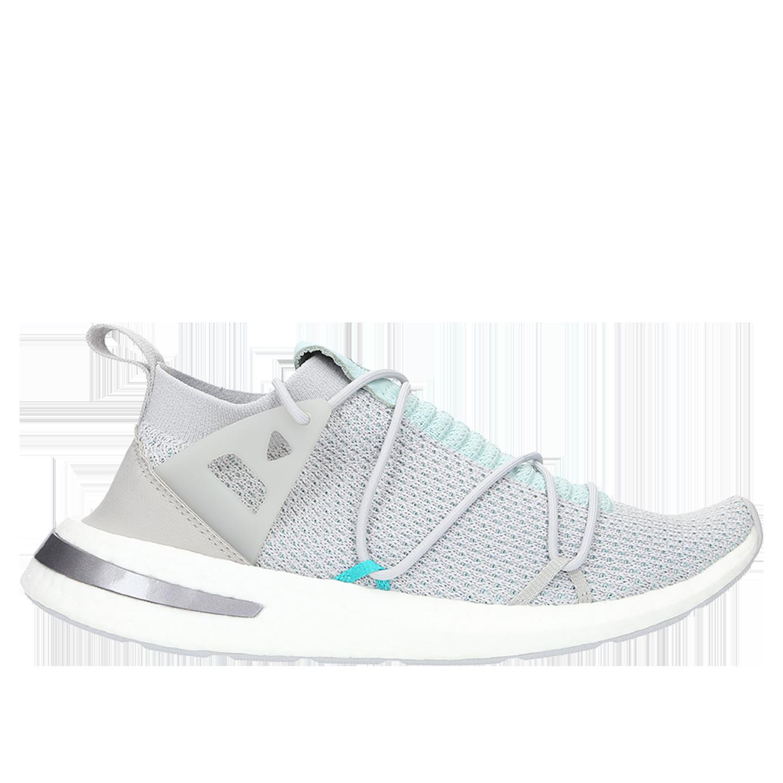 chisme Ponte de pie en su lugar Repelente  Adidas Arkyn Primeknit Sneakers - Grey Two/Ash Green | Garmentory