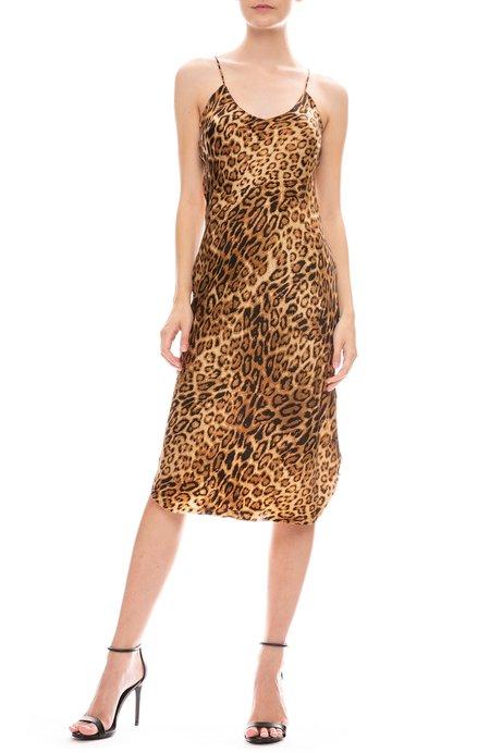 Nili Lotan Leopard Short Cami Dress - Ginger Leopard Print