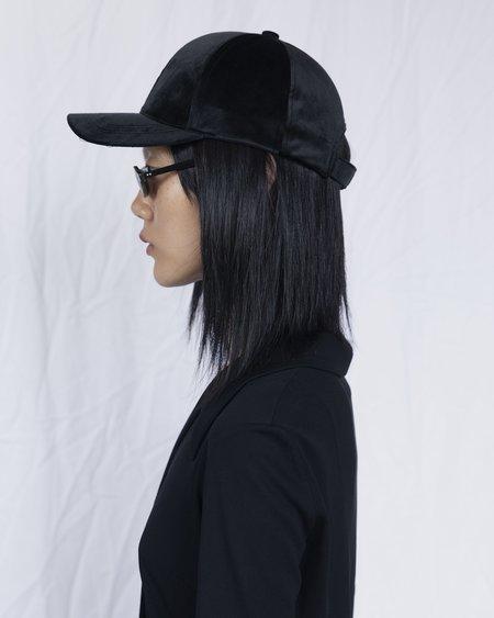 Clyde Microsuede Ballcap - Black