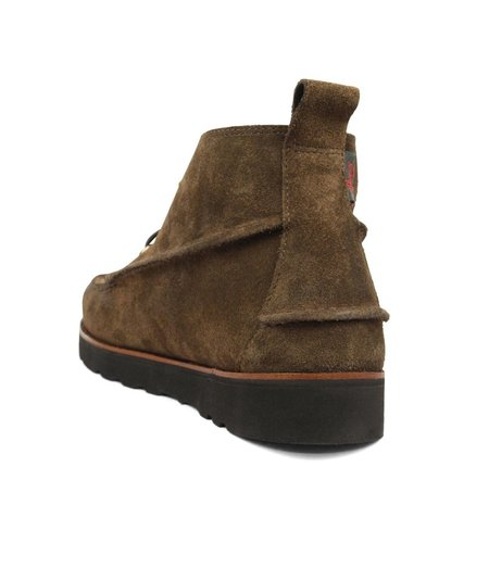 GH Bass Ranger Wedge Boot Suede - Brown