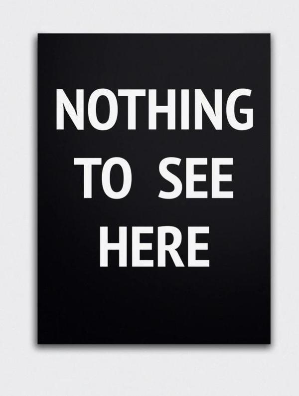 SOOuk Nothing To See Here Print