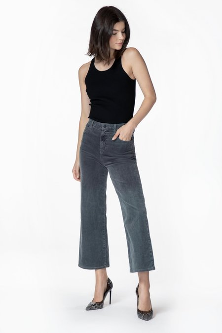 J Brand Joan High Rise Crop Corduroy
