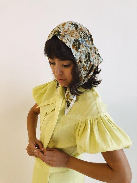 Hannah Kristina Metz Knightley Blouse - Honeydew
