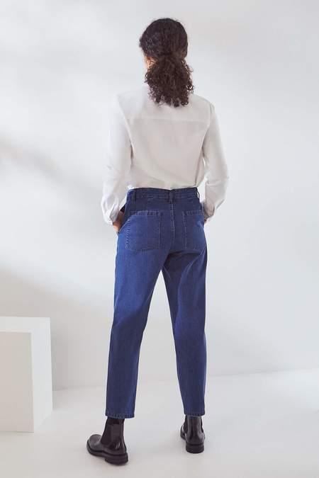 Kowtow Core Jeans - mid blue denim