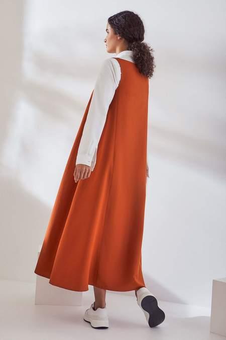 Kowtow Marie Dress - sienna