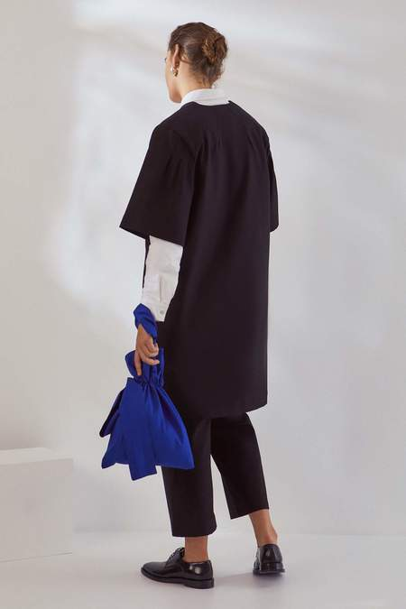 Kowtow Narrative Dress - black canvas