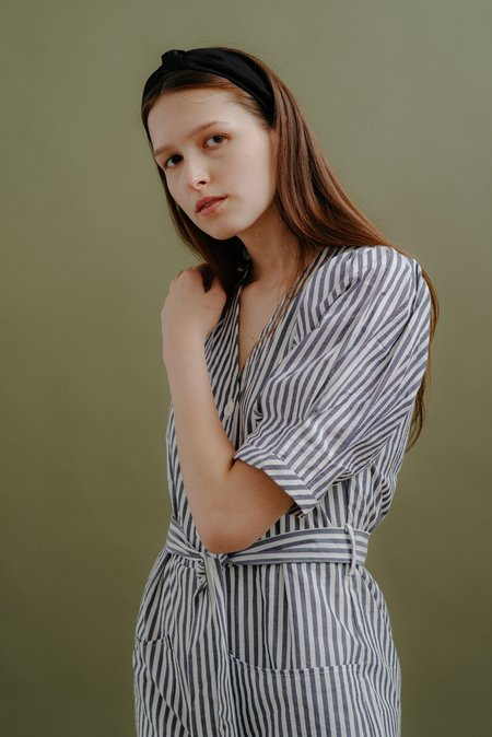 WRAY NORMA JUMPSUIT - BLUE STRIPE