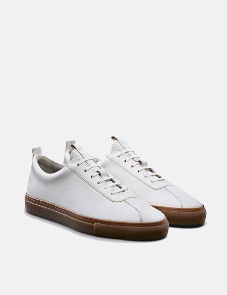 Grenson Sneaker 1 - White/Gum