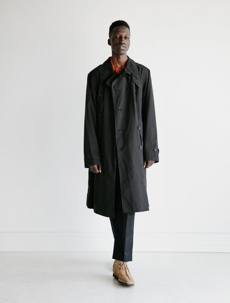 Unisex Lemaire Trench Coat - Black