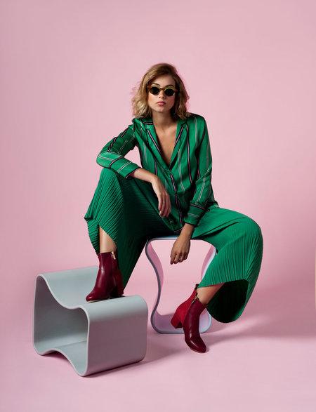 INLU Middle-heel boots - Bordeaux/Crimson red