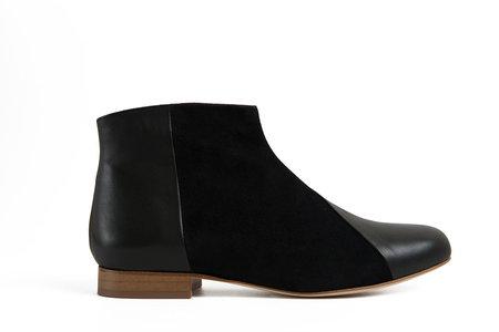 INLU Low Heel boots - Black