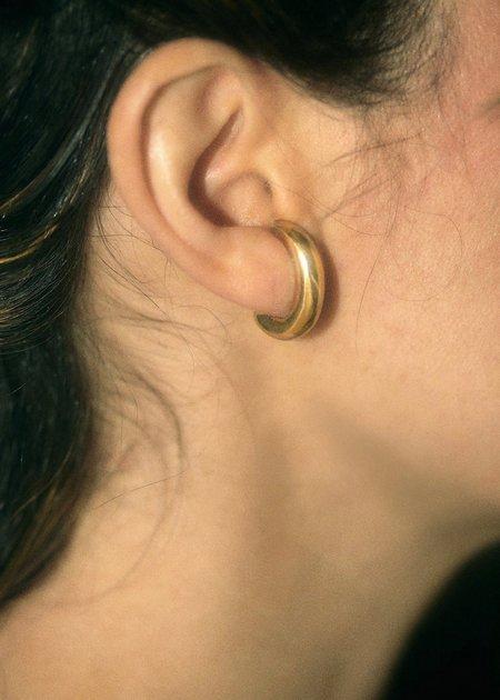 Hernán Herdez Lobe Hoop Earrings