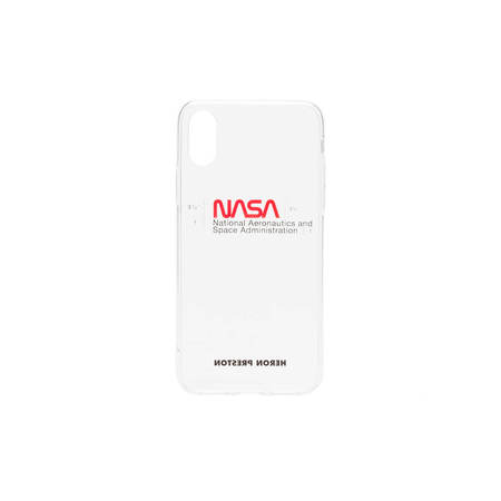 Heron Preston iPhone XS Nasa Case - Transparent