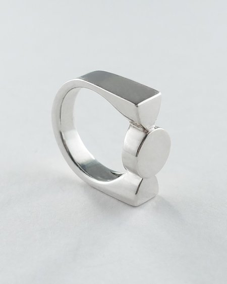 Lacar Mini Silo Ring - Silver