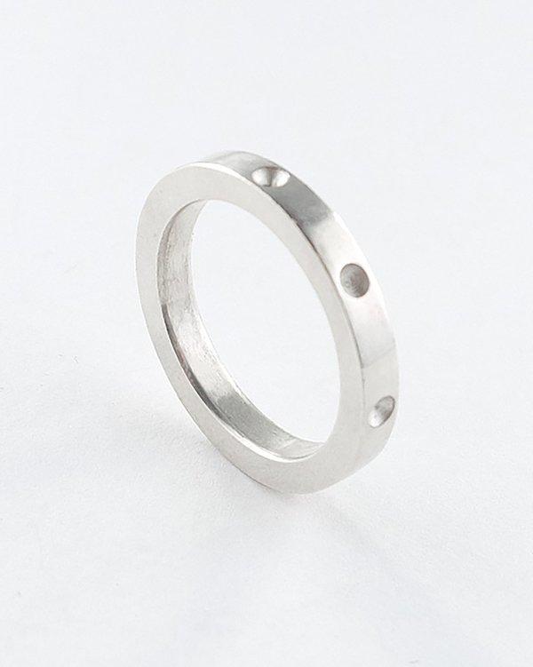 Lacar Negative Ring - Silver