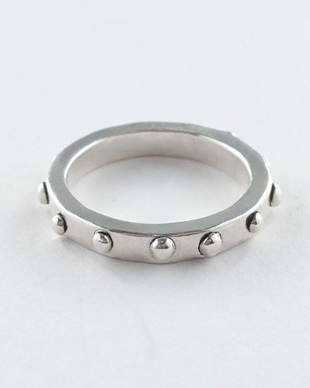 Lacar Stud Ring - Silver