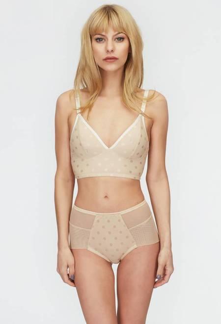 Fortnight Ara seamless high waisted underwear - champagne/ivory