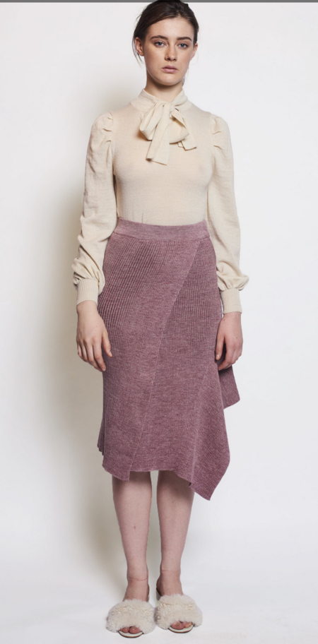 AYNI Morni Skirt - Mauve