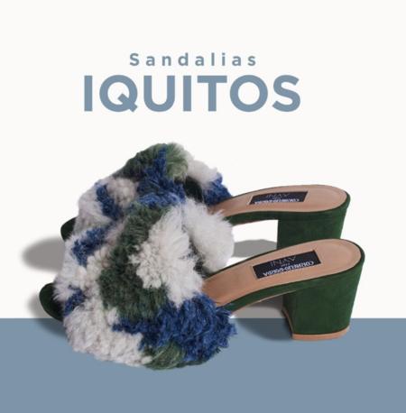 AYNI x Cornelio Borda Iquitos Sandals - Mule