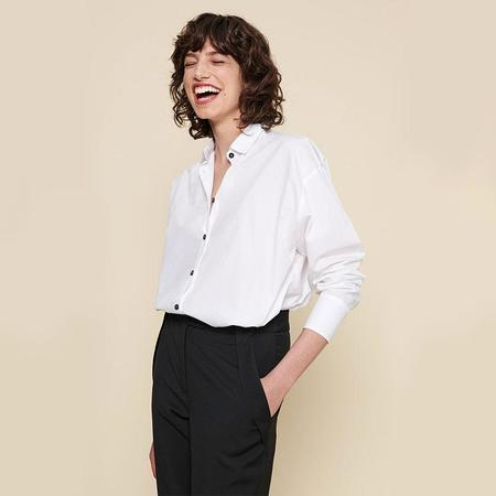 Acote Cotton white shirt - Cascades