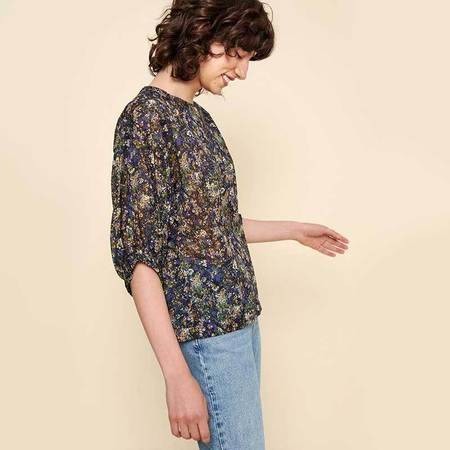 Acote Printed and flowing blouse - Falkirk Multi