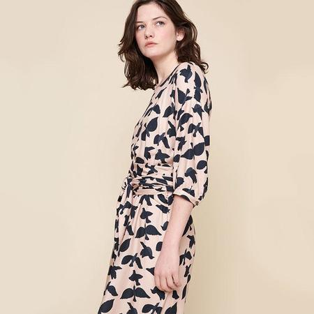 Acote Glasgow Printed midi dress - Rosee