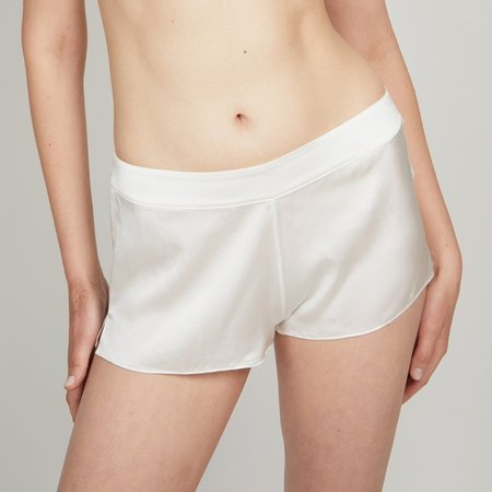 KENT OH Organic Silk Shorts - Cloud Grey