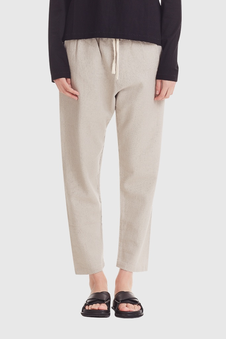 COMMONERS Linen Pant - Natural