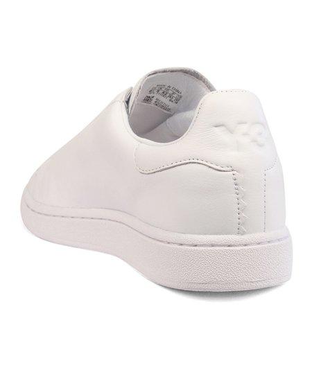 Adidas Y-3 Yohji Court Leather Sneaker - White