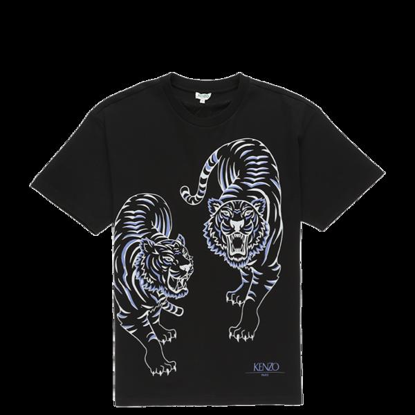 55b67942d9 Kenzo Double Tiger T-Shirt - Black on Garmentory