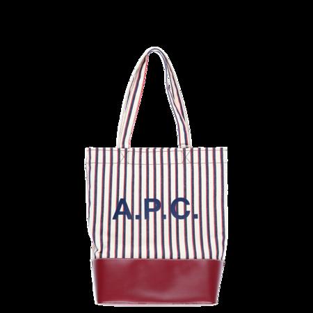 A.P.C. Sac Axelle Tote Bag - Bordeaux