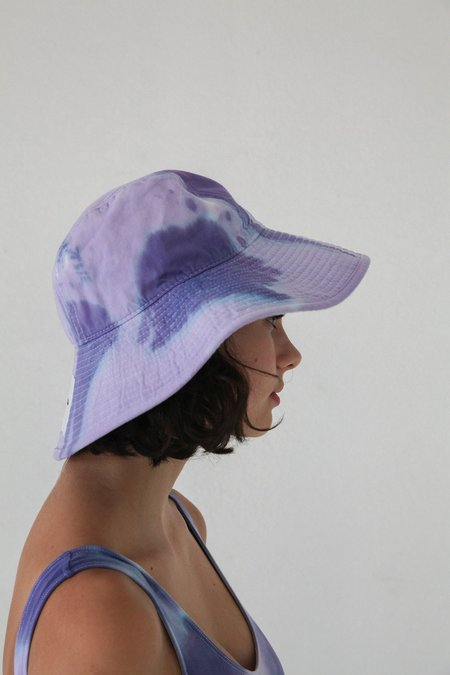 KkCo Vacationer Hat - Grape Tie Dye
