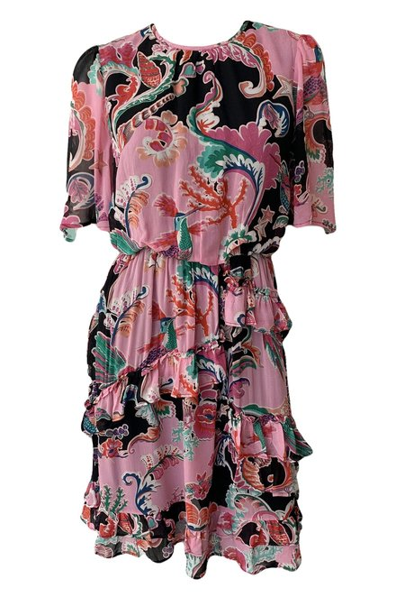 Banjanan Charlie Dress - Rococo Fantasy Mosaic