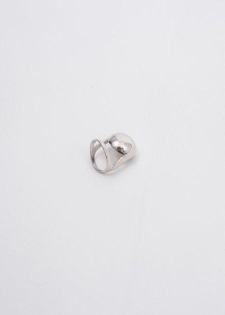 Alan Crocetti Armadillo Joint Ring - Silver