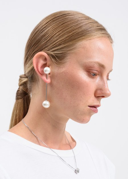 Alan Crocetti ISA-16 Earring - Silver