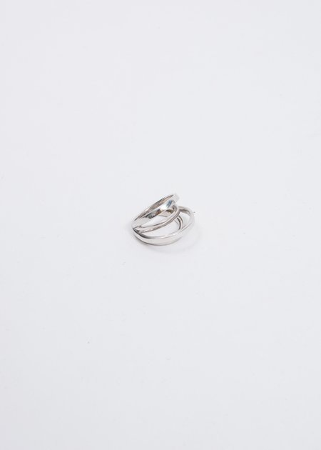 Alan Crocetti Space Ring - Silver